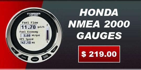 Lowrance LMF-400 for sale - Honda Outboard gauges - Honda