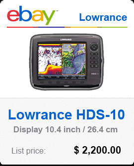 Lowrance HDS 10 for sale
