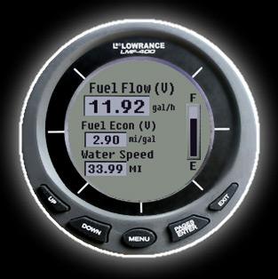 Lowrance LMF-400 for sale & Lowrance Yamaha interface cable