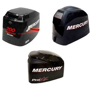 Mercury outboard cowling for sale for Mercury outboard motor cowling